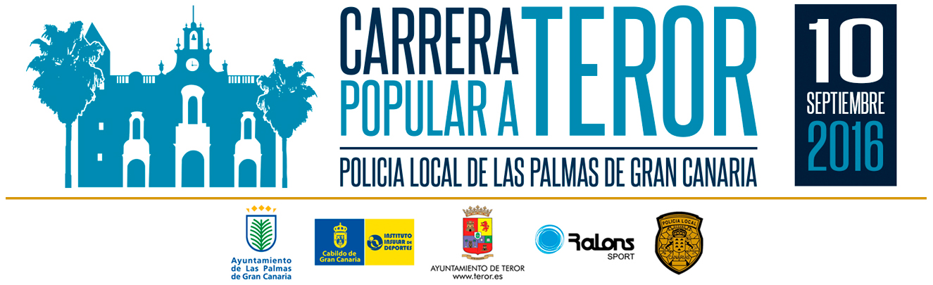 Carrera Policia Local LPGC Logo